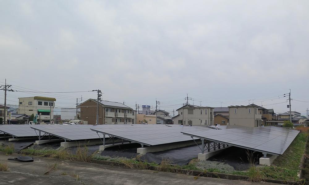 蒲原ソーラー発電所