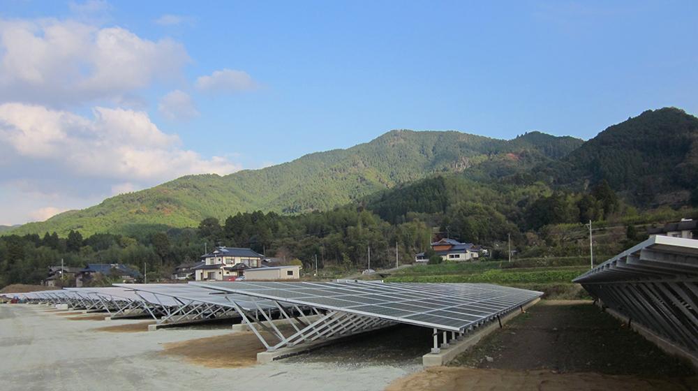 山鹿ソーラー発電所