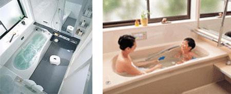 浴槽の素材で異なる保温性能!
