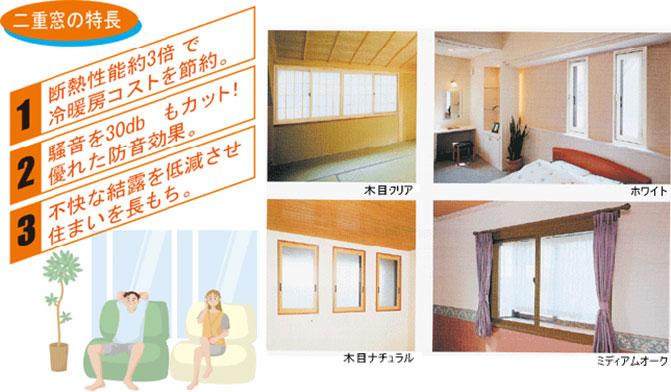 二重窓の特長