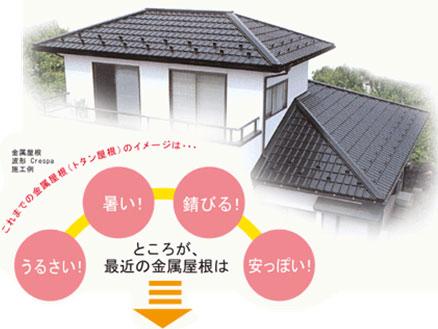 屋根は葺き替える!!